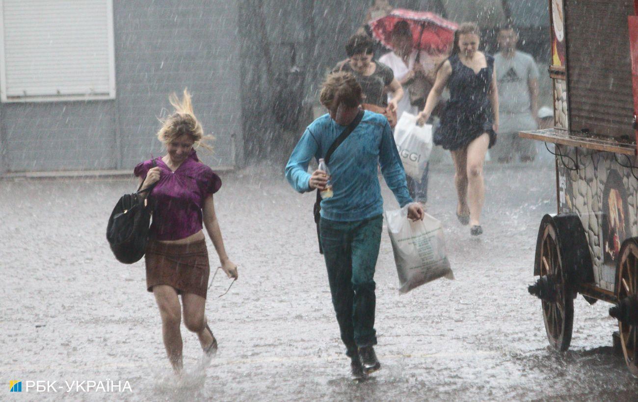 Погода в Украине ухудшается: синоптики предупреждают о грозе в Киеве и ряде областей