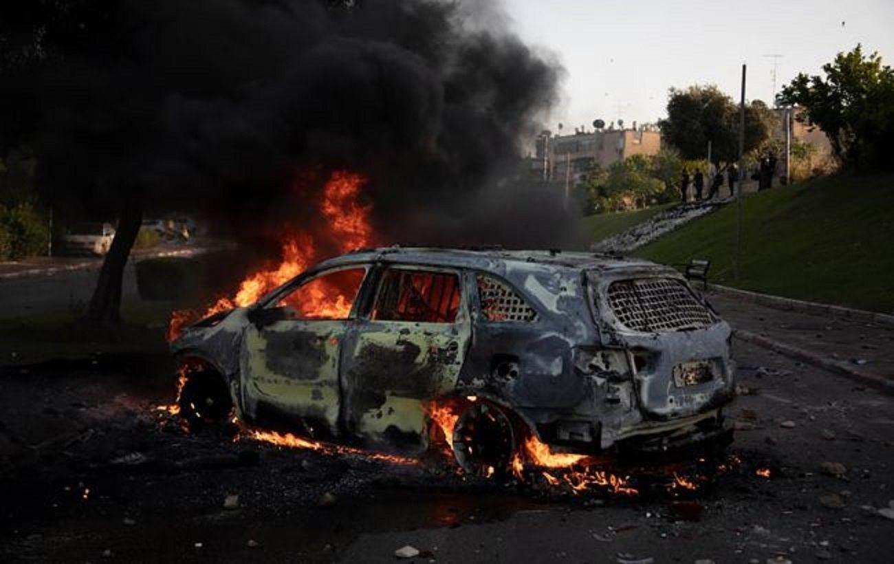 Полиция Израиля задержала десятки участников беспорядков по всей стране