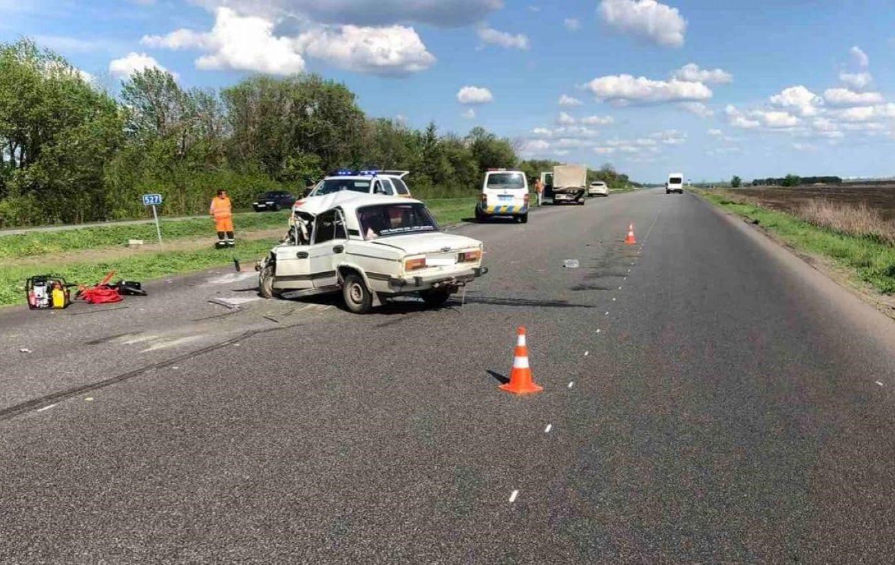 В Харьковской области произошло ДТП с участием грузовика, есть погибшие