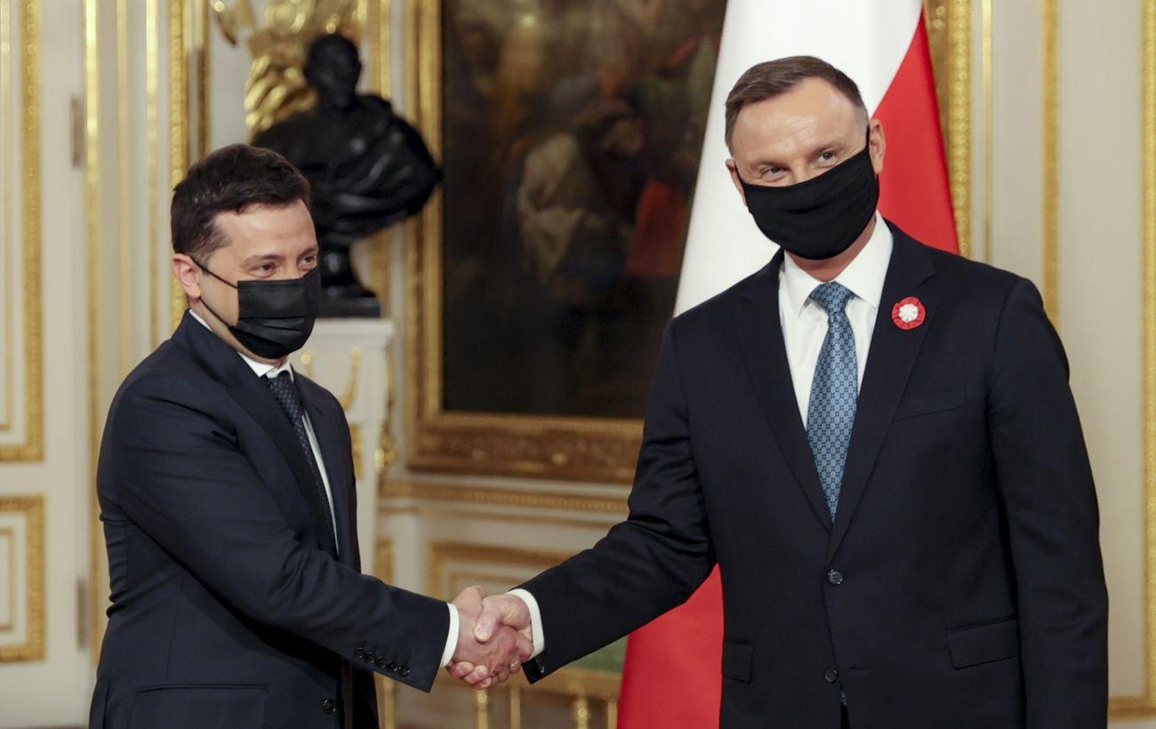 Дуда и Зеленский подписали декларацию о европейской перспективе для Украины