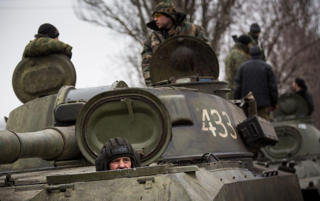 Боевики стягивают танки в Донецкой области, - ОБСЕ