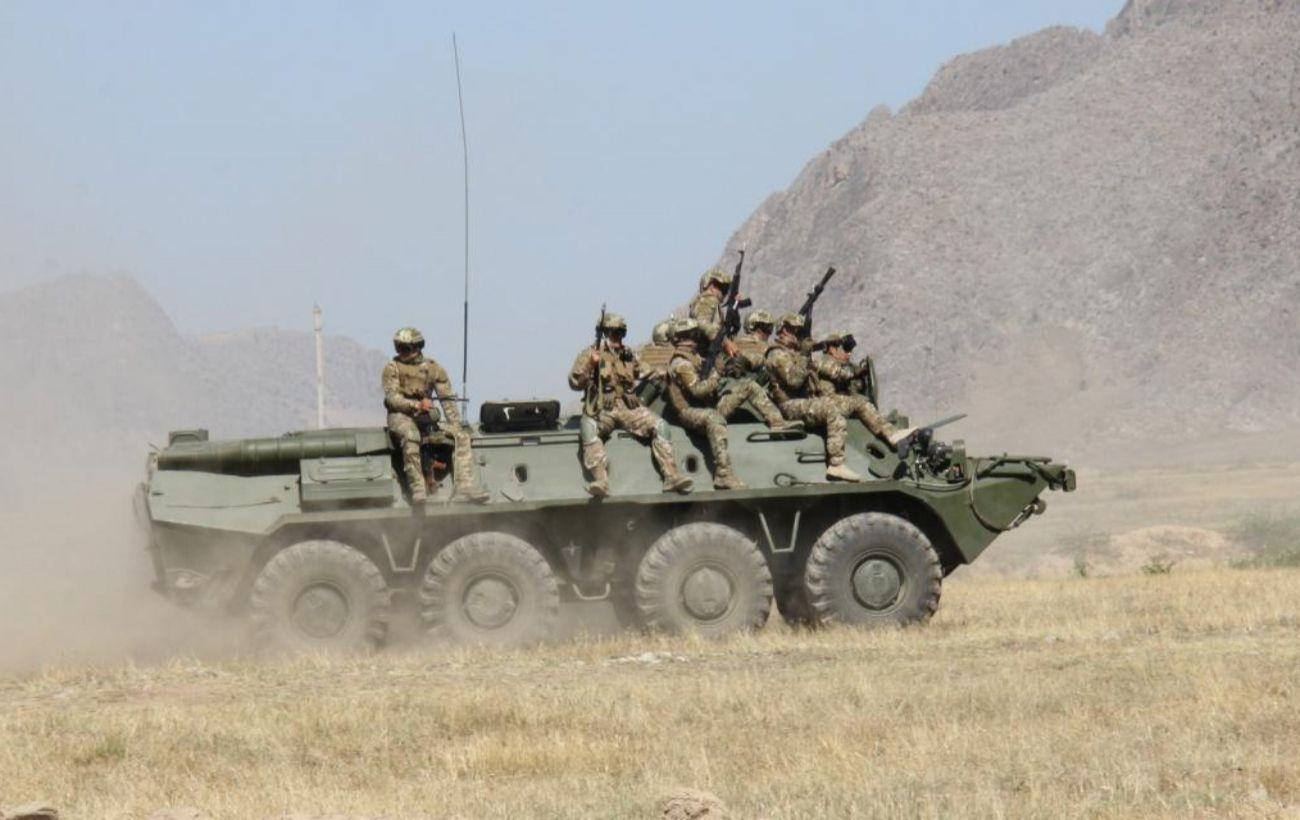 Таджикистан и Киргизия начали отвод войск из зоны конфликта