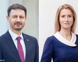 Премьеры Эстонии и Словакии посетят Украину