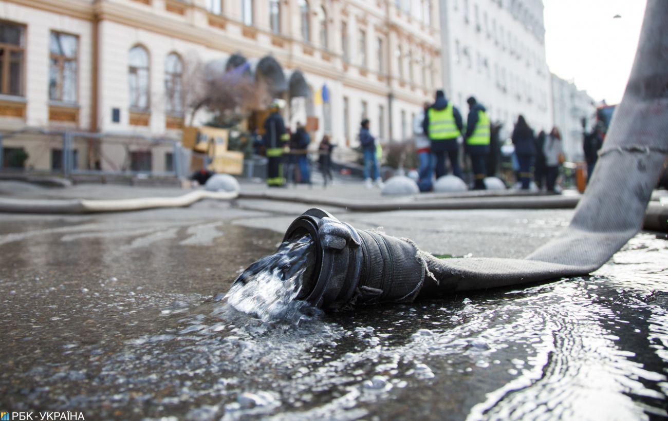 В Киеве горел Ледовый стадион