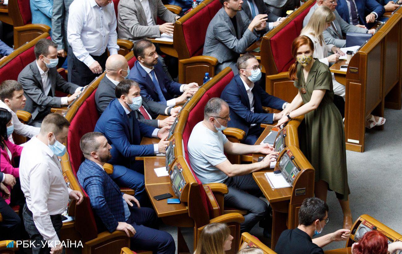 Тероборона и увеличение численности ВСУ: что рассмотрят на внеочередном заседании Рады