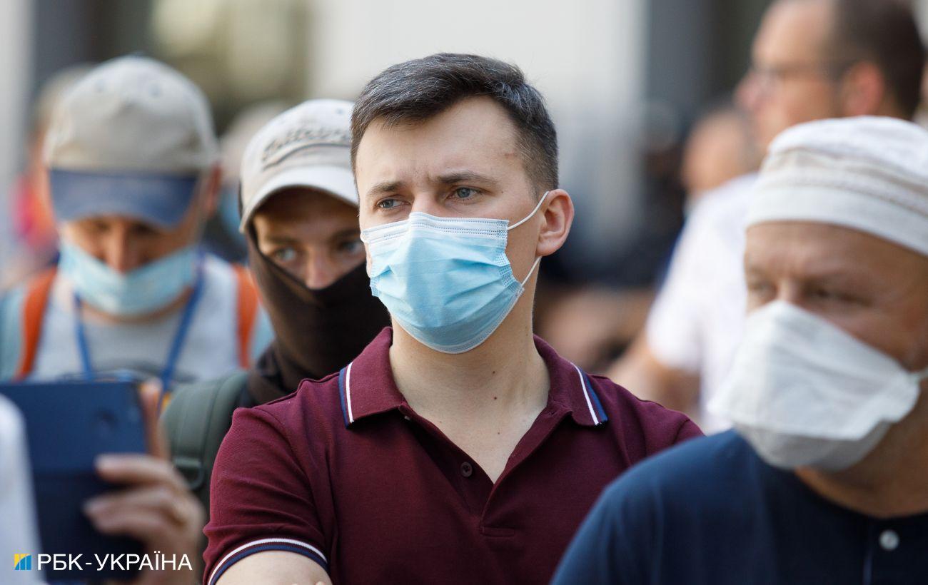 В Украине за сутки выявили 285 новых случаев COVID