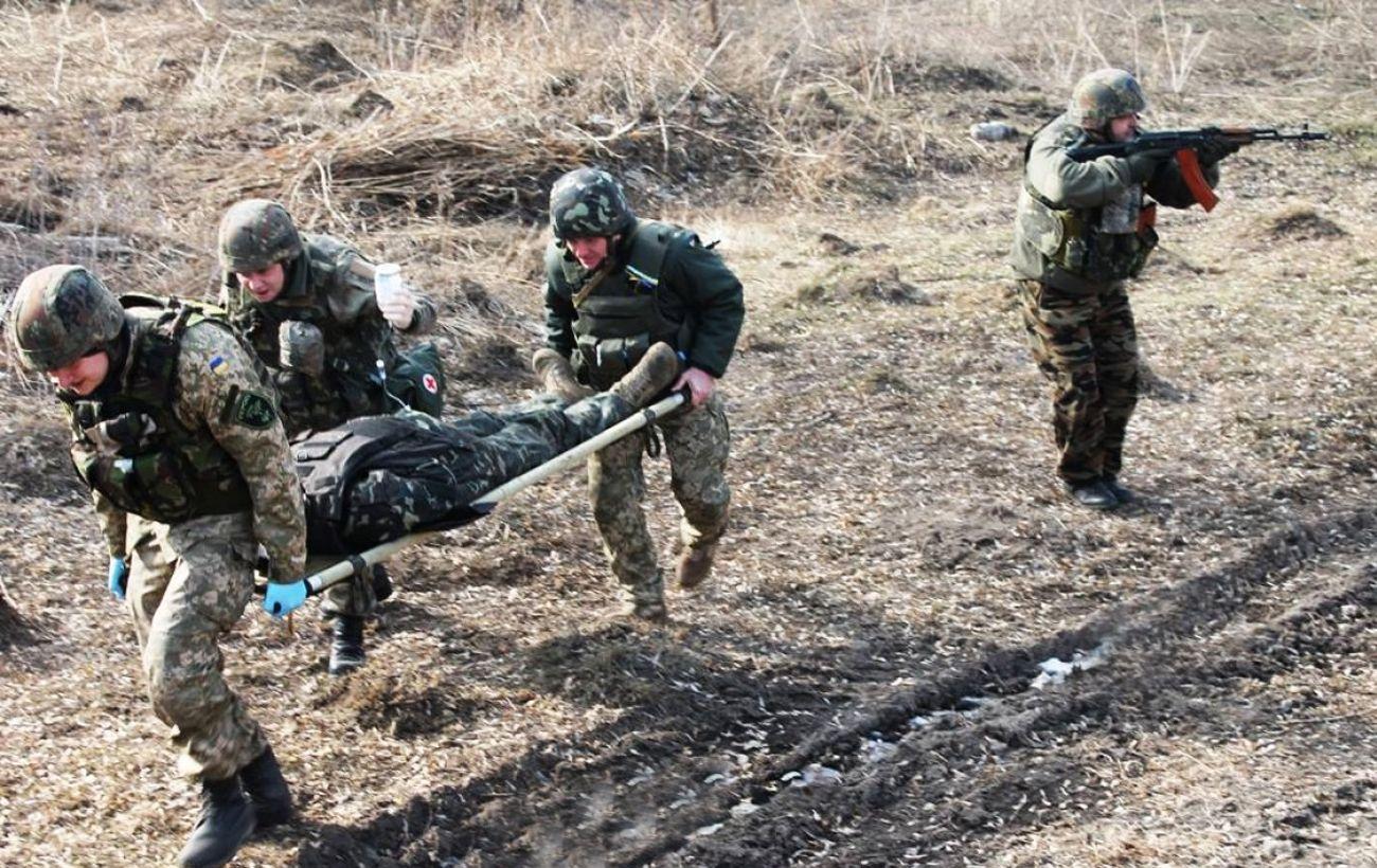 Украинский военный получил ранение под Новотошковским