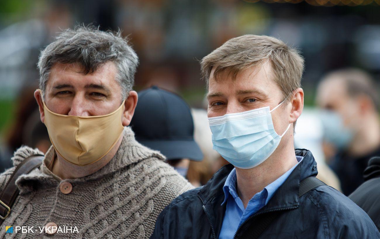 Ситуация с COVID в Украине: какие регионы приблизились к