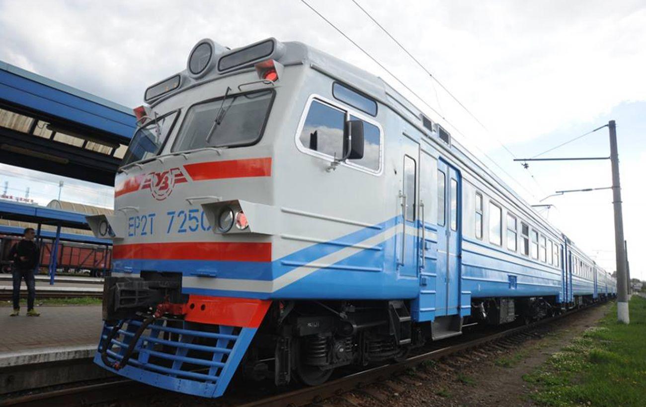 В Киеве отменили ряд рейсов городской электрички