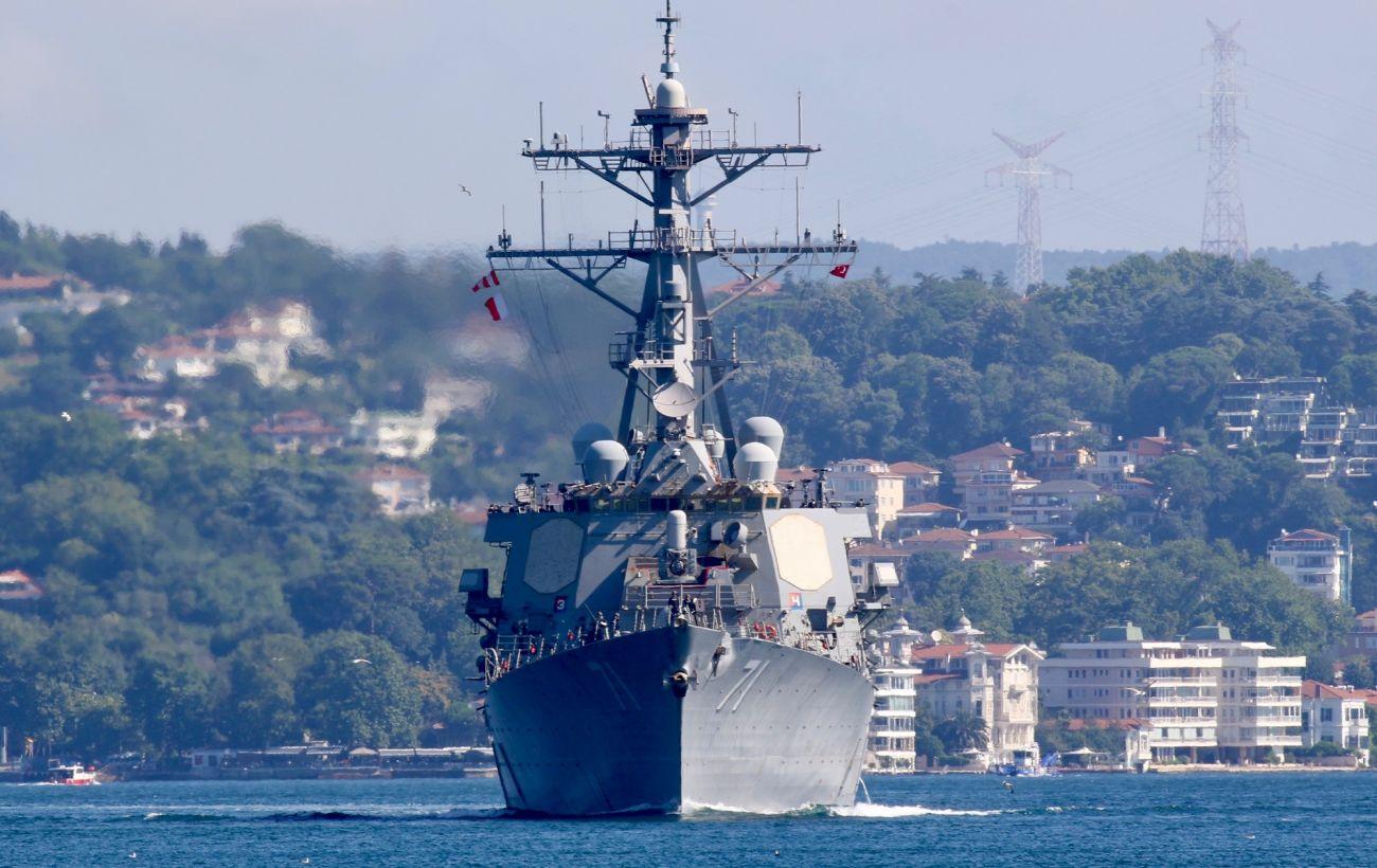 Участвовавший в учениях Sea Breeze американский эсминец покинул Черное море