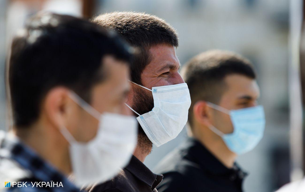 Показатели эпидопасности трех областей Украины не соответствуют