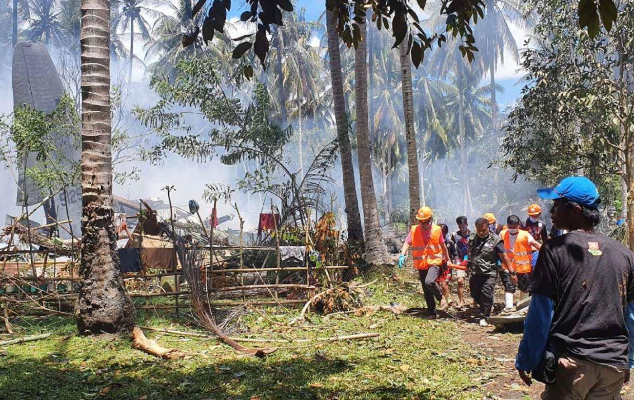 Количество погибших в авиакатастрофе на Филиппинах снова выросло
