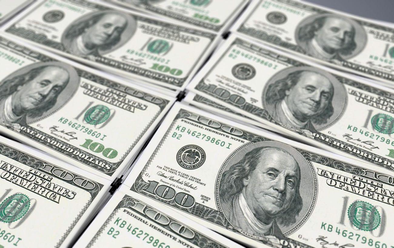 Курс доллара упал ниже 27 гривен впервые за месяц