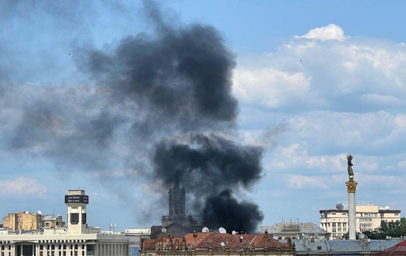 На Крещатике в Киеве возник пожар: что происходит