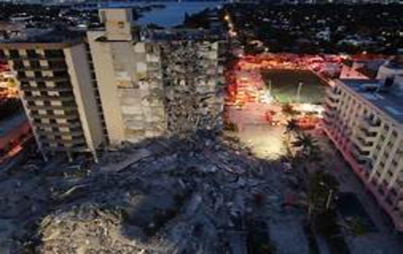 Обрушение дома в Майами: власть обвинили в отказе срочного ремонта перед трагедией