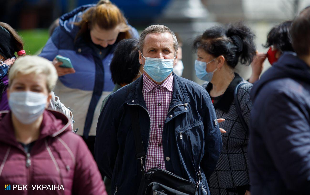 Эпидпоказатели четырех областей Украины не соответствуют