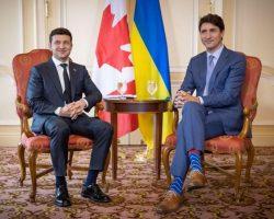 Зеленский поздравил Трюдо с победой на выборах в парламент и ожидает в Киеве с визитом