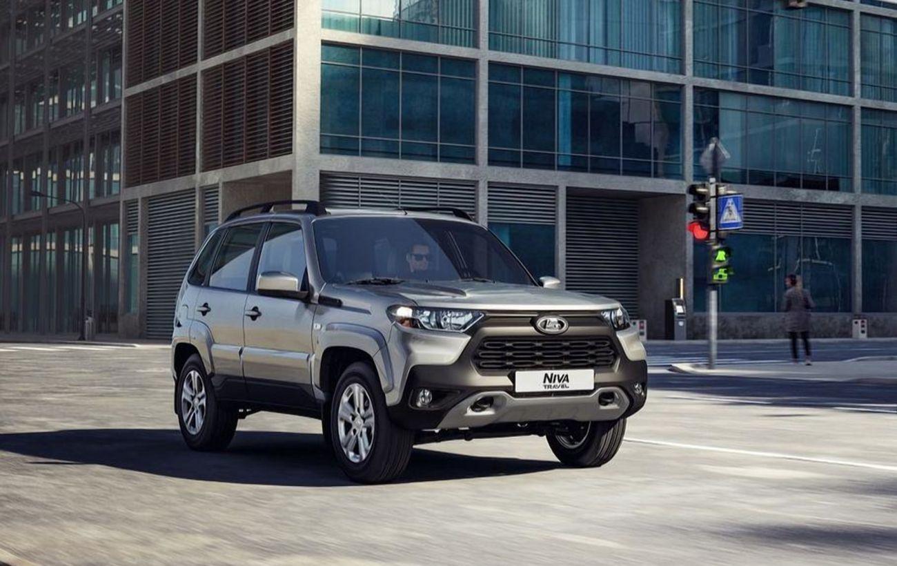 В Украине начали продавать российский внедорожник Lada Niva Travel