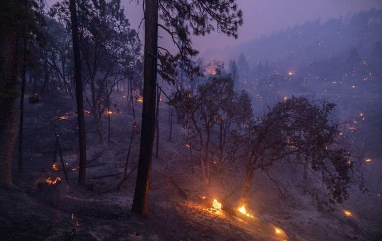 В Калифорнии из-за риска пожаров закрыли все национальные парки