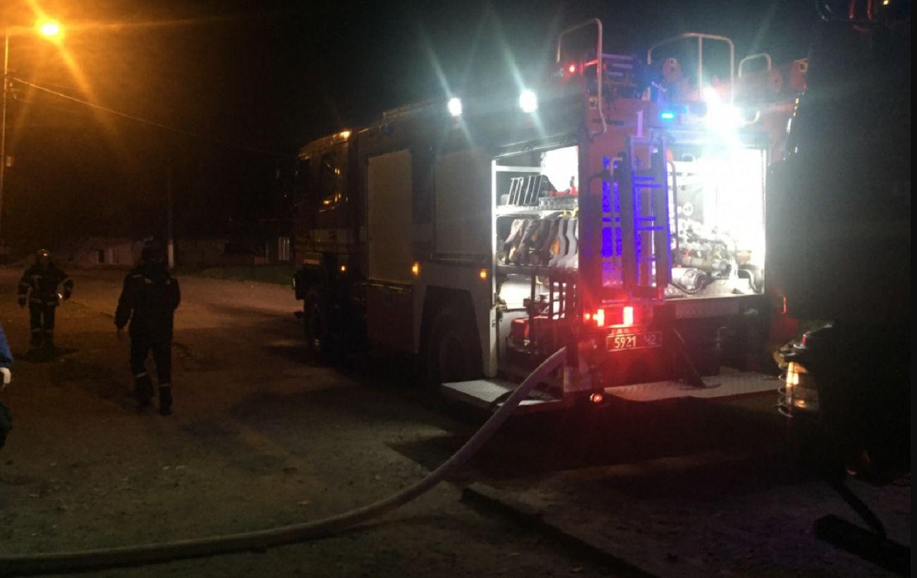 В Черновцах горел лицей железнодорожного транспорта