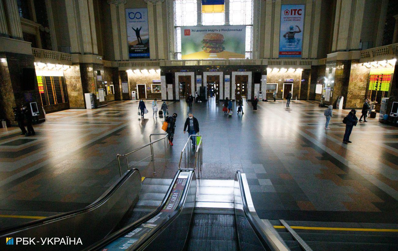 На крупнейших вокзалах Украины развернут лаборатории для экпресс-тестирования, - УЗ