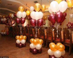 Композиции из шаров и фотозоны на любые праздники