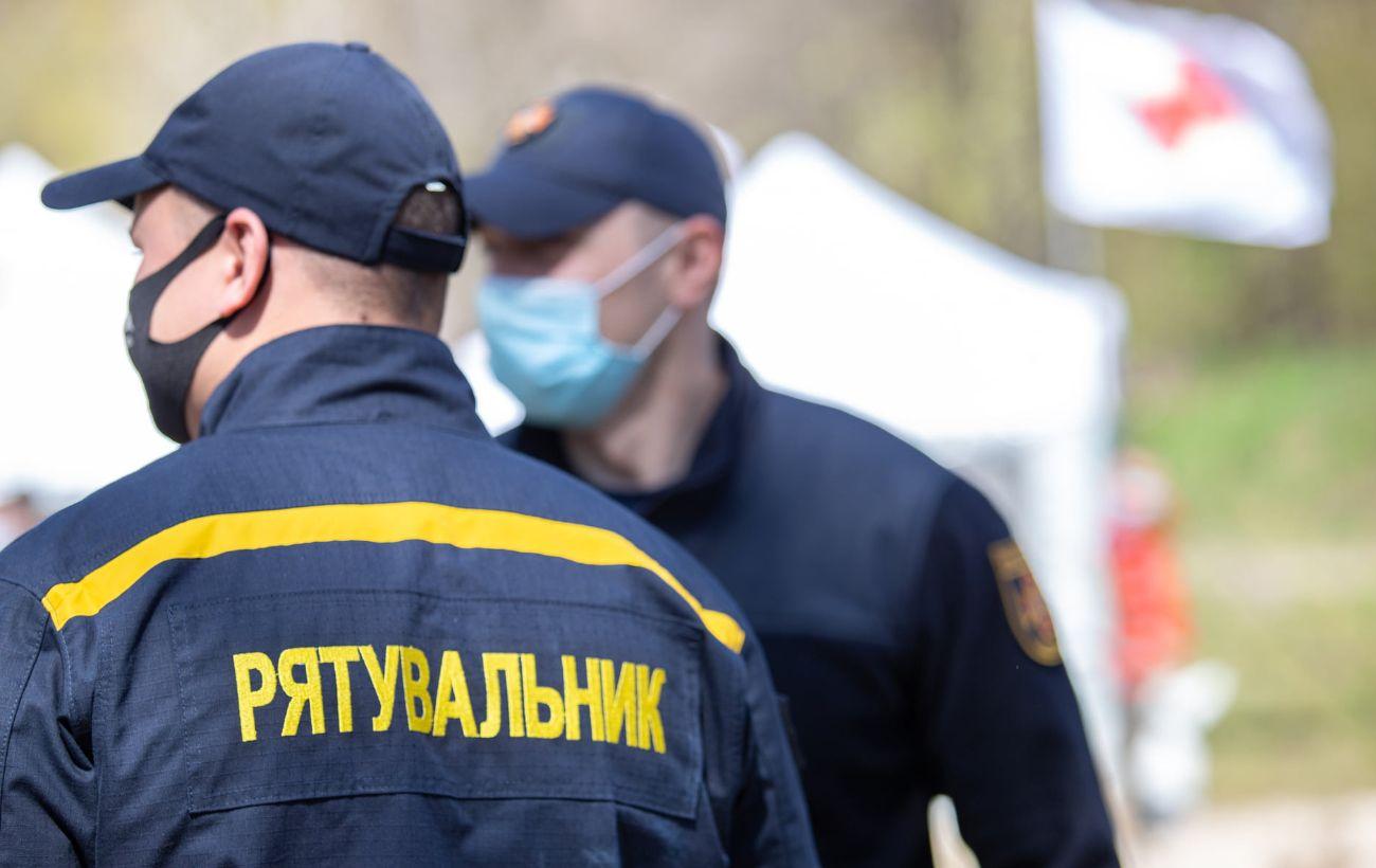 В центре Киева вспыхнул пожар