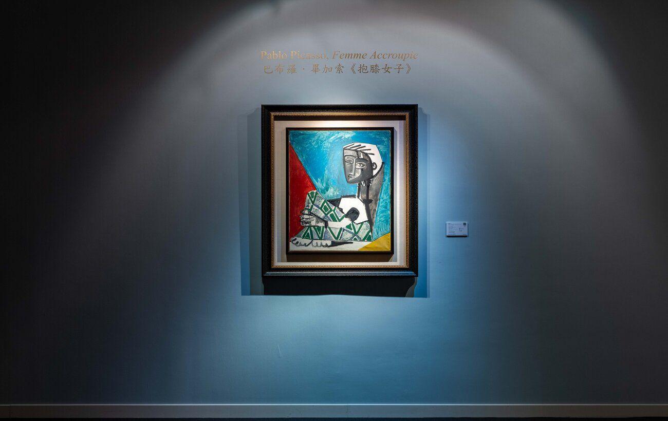 Картину Пикассо продали на аукционе в Гонконге за 24,6 млн долларов