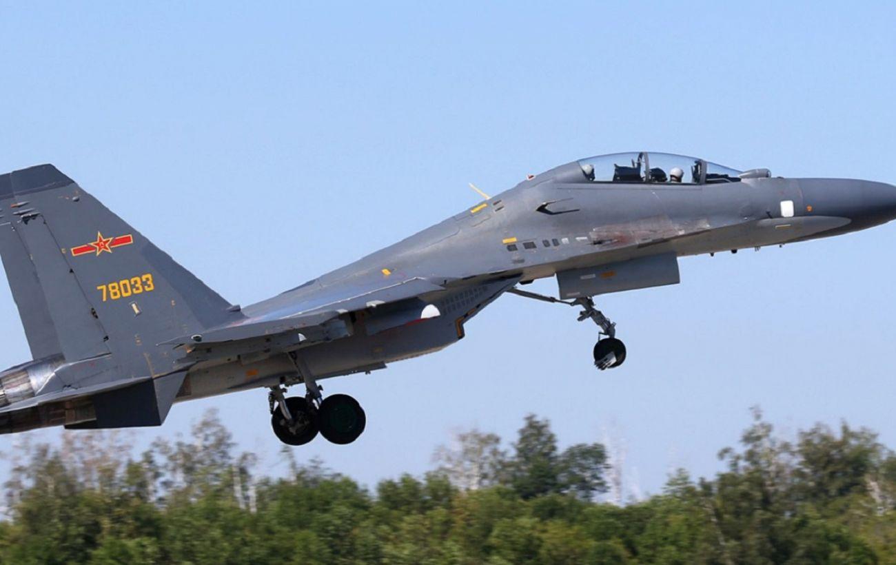 Тайвань заявил о крупнейшем вторжении ВВС Китая